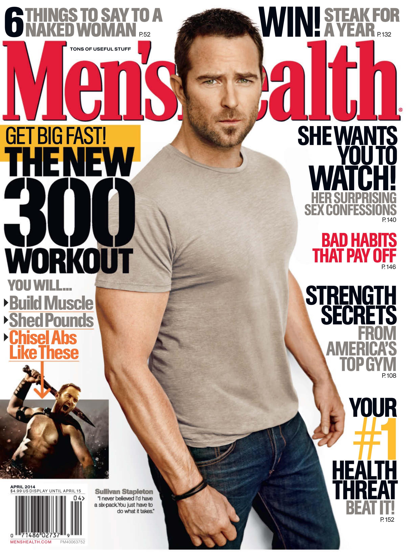 Mens Health 04 April 2014 USA