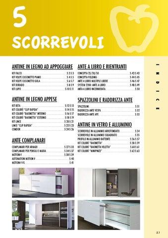 Binari Per Ante Scorrevoli E Chiusura Complanare.Scorrevoli By Giuseppe Micillo Issuu