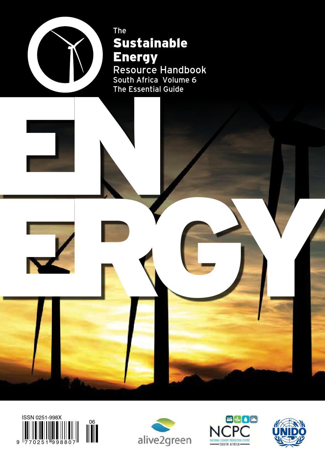 Sustainable Energy Resource Handbook By Alive2green Issuu Wiring Code Sans 10142 Pdf