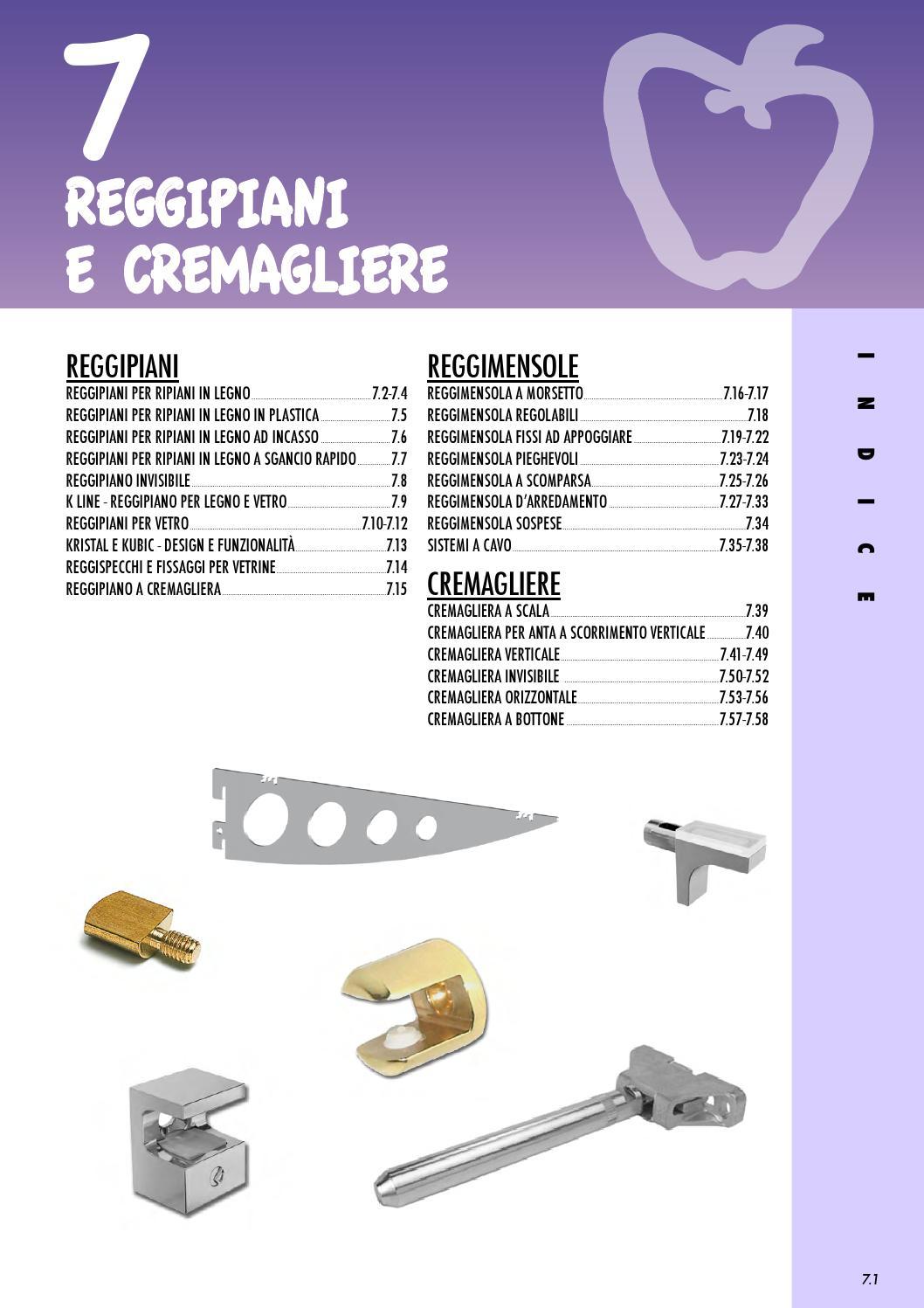 Reggimensola Per Mensole Vetro.Reggipiani Reggimensole E Cremagliere By Giuseppe Micillo Issuu