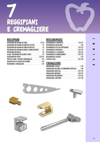 Reggimensola A Scomparsa Regolabile.Reggipiani Reggimensole E Cremagliere By Giuseppe Micillo Issuu