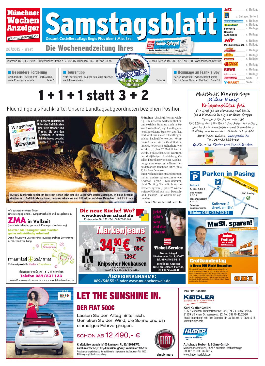 KW 28-2015 by Wochenanzeiger Medien GmbH - issuu
