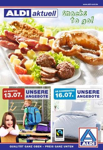 Aldi Nord Angebote Ab 130715 Onlineprospektcom By
