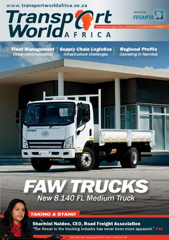 Transport World Africa July/August 2015 by 3S Media - issuu