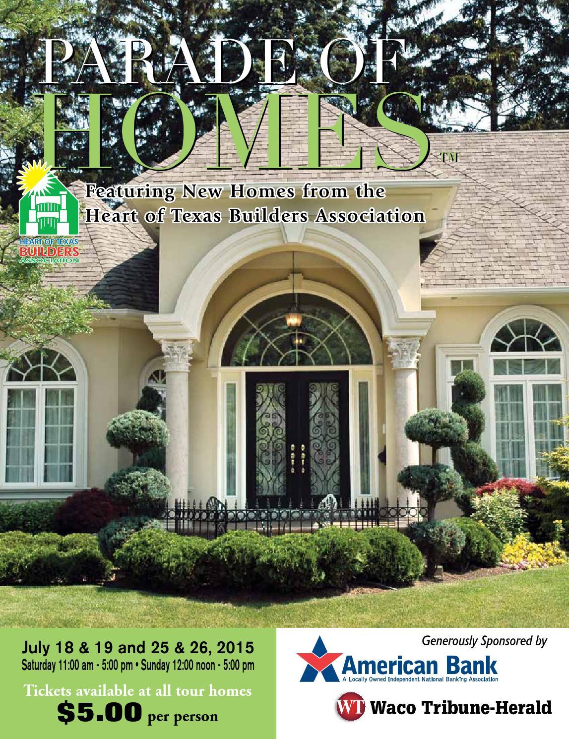 waco parade of homes magazine 2015 by internet imagineering issuu