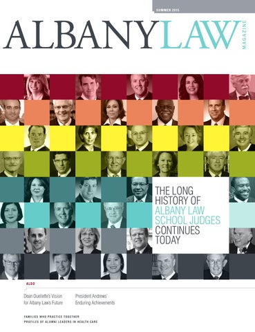 Albany Law Summer 2015 Magazine By School