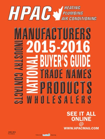 hpac june 2015 buyers guide by annex newcom lp issuu