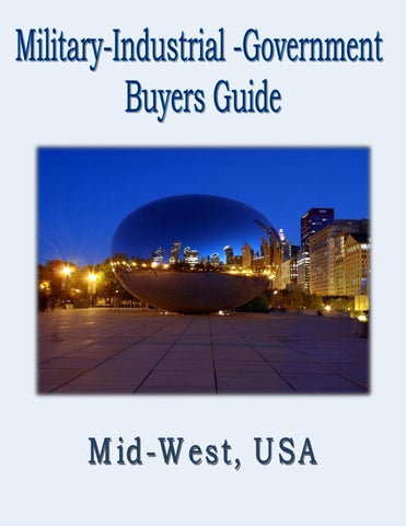 Military Industrial Government Buyers Guide For The