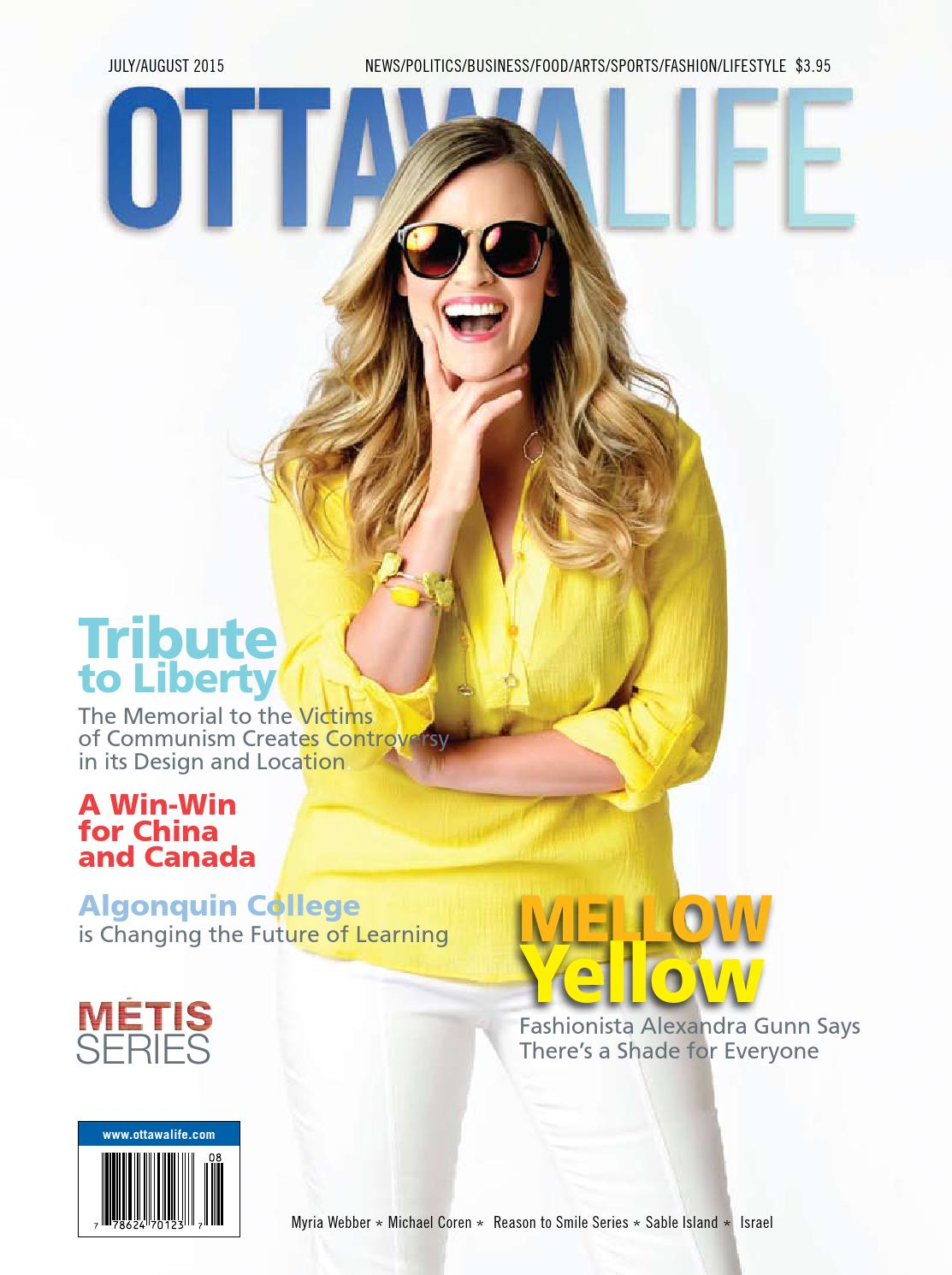 Ottawa Life Magazine - July/August 15