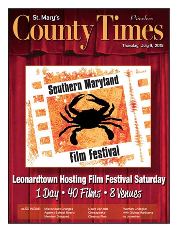 2015-07-09 St  Mary's County Times by Southern Maryland