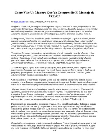 Ucdm Preguntas Respuestas By Leomogar Issuu