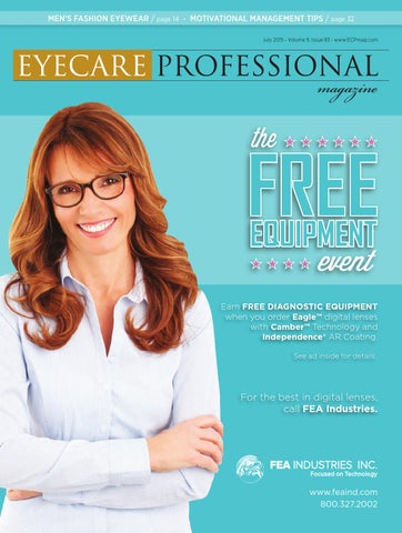 1d3a2e23c4 Eye Care Professional Magazine - July 2015 Issue by ECP Magazine - issuu