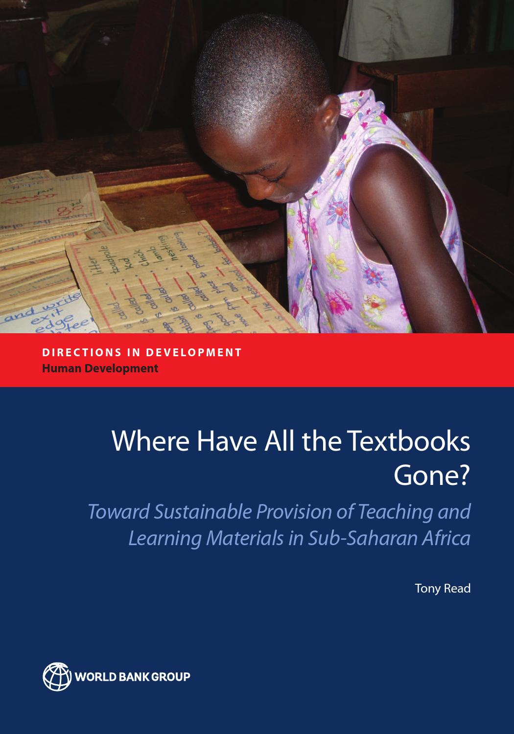 Workbooks tprh verbal workbook : Where Have All the Textbooks Gone? by World Bank Publications - issuu