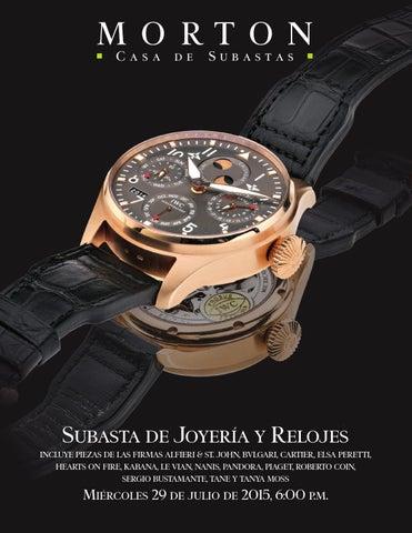f0058c4379b Subasta de JoyerĂa y Relojes incluye piezas de las firmas alfieri   st.  john