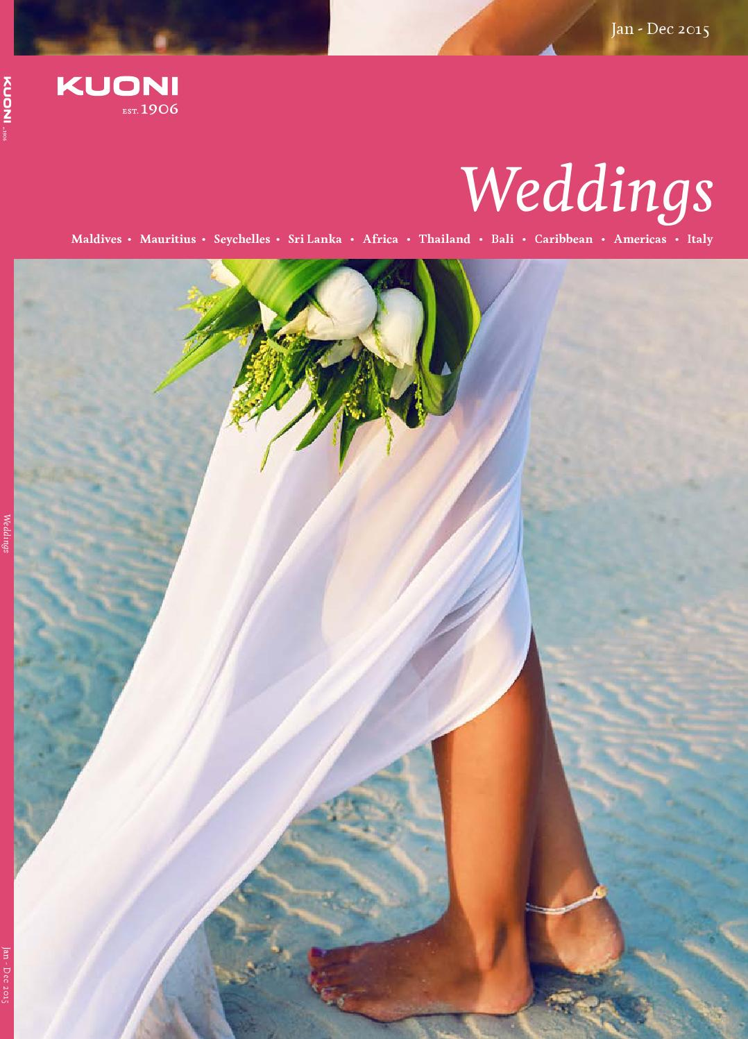 Kuoni Travel Weddings 2015 By Savvitravel Issuu