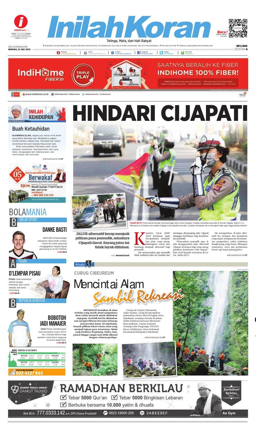 Hindari Cijapati By Inilah Koran Issuu Produk Ukm Bumn Bahan Songket Sulam Katun Merah