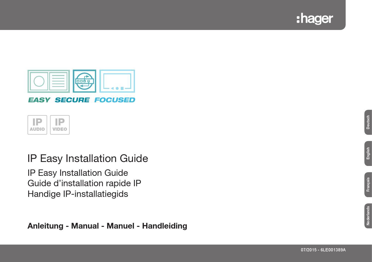 hager ip easy installation guide v21 07 2015 by elcom kommunikation gmbh issuu