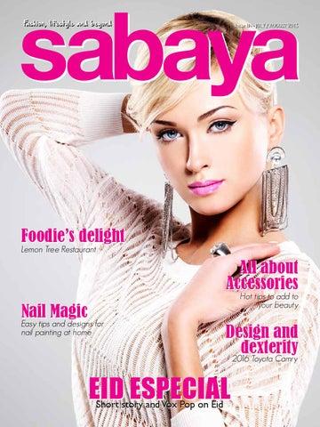 Sabaya English July / August 2015 issue 84 by Sabaya