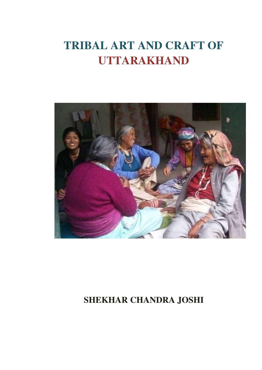 Book on tribal art of uttarakhand by shekhar joshi 2015 by Shekhar ...