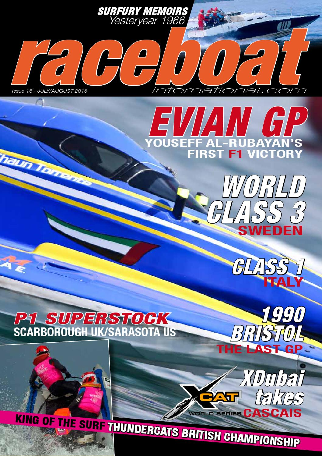 acquista il più recente vendita uk ultima vendita Raceboat International Issue #16 by Raceboat International ...