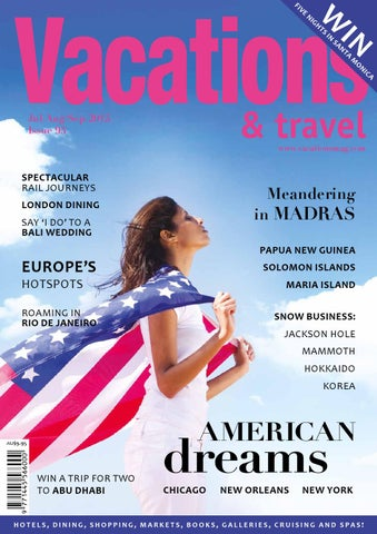 ac9a26bf13b48 Vacations & Travel by Morris Media Network - issuu