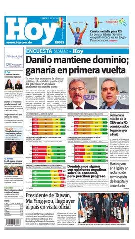 Periódico lunes 13 de julio de 2015 by Periodico Hoy - issuu a2715b88483dc