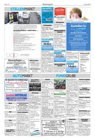 Grafschafter Wochenblatt08072015 By Sonntagszeitung Issuu