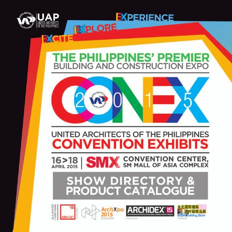 CONEX 2015 Show Directory by Jason Aban - issuu