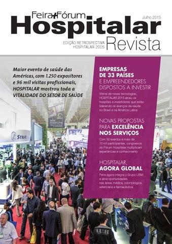 Revista Retrospectiva Hospitalar 2015 by Hospitalar Feira e Fórum ... 5af43b391bf00