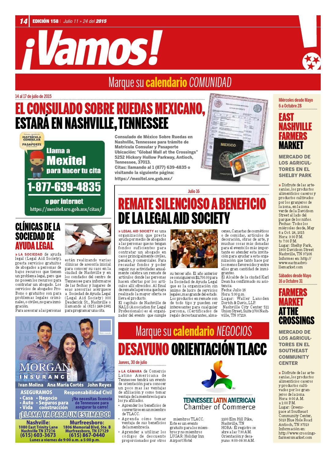 Hola TN - Ed  158 by Hola Tennessee Newspaper - issuu