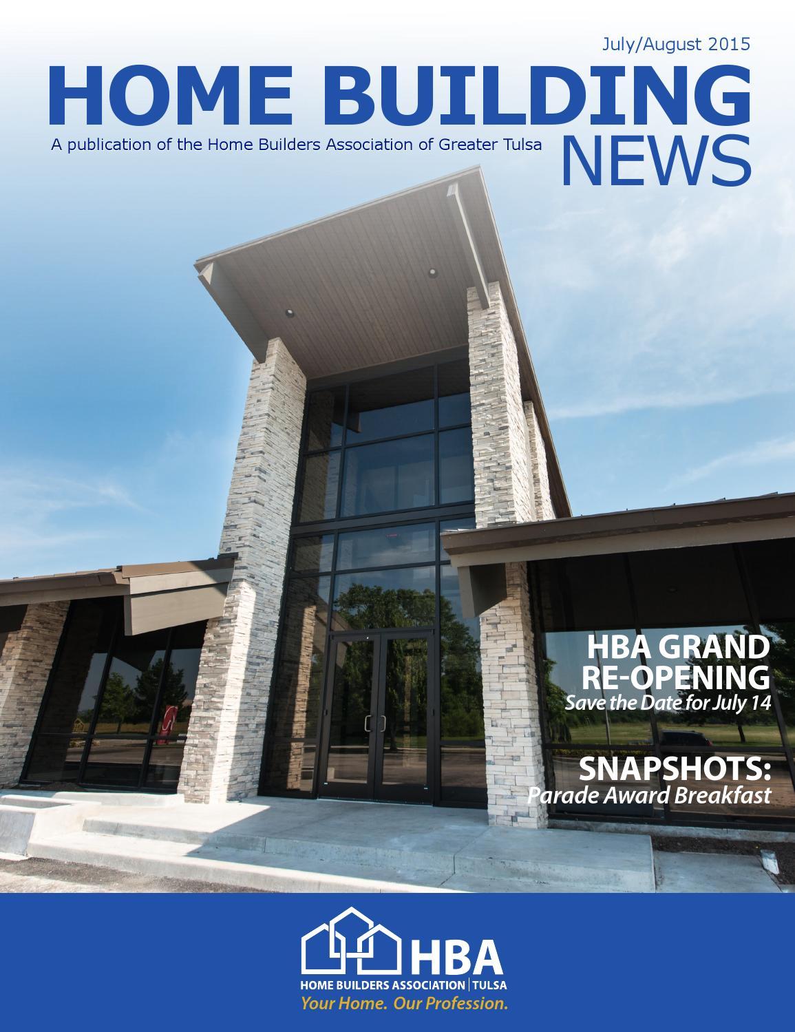 Tulsa area home builders association home review New home builders tulsa