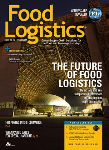 Food Logistics Nov 2014