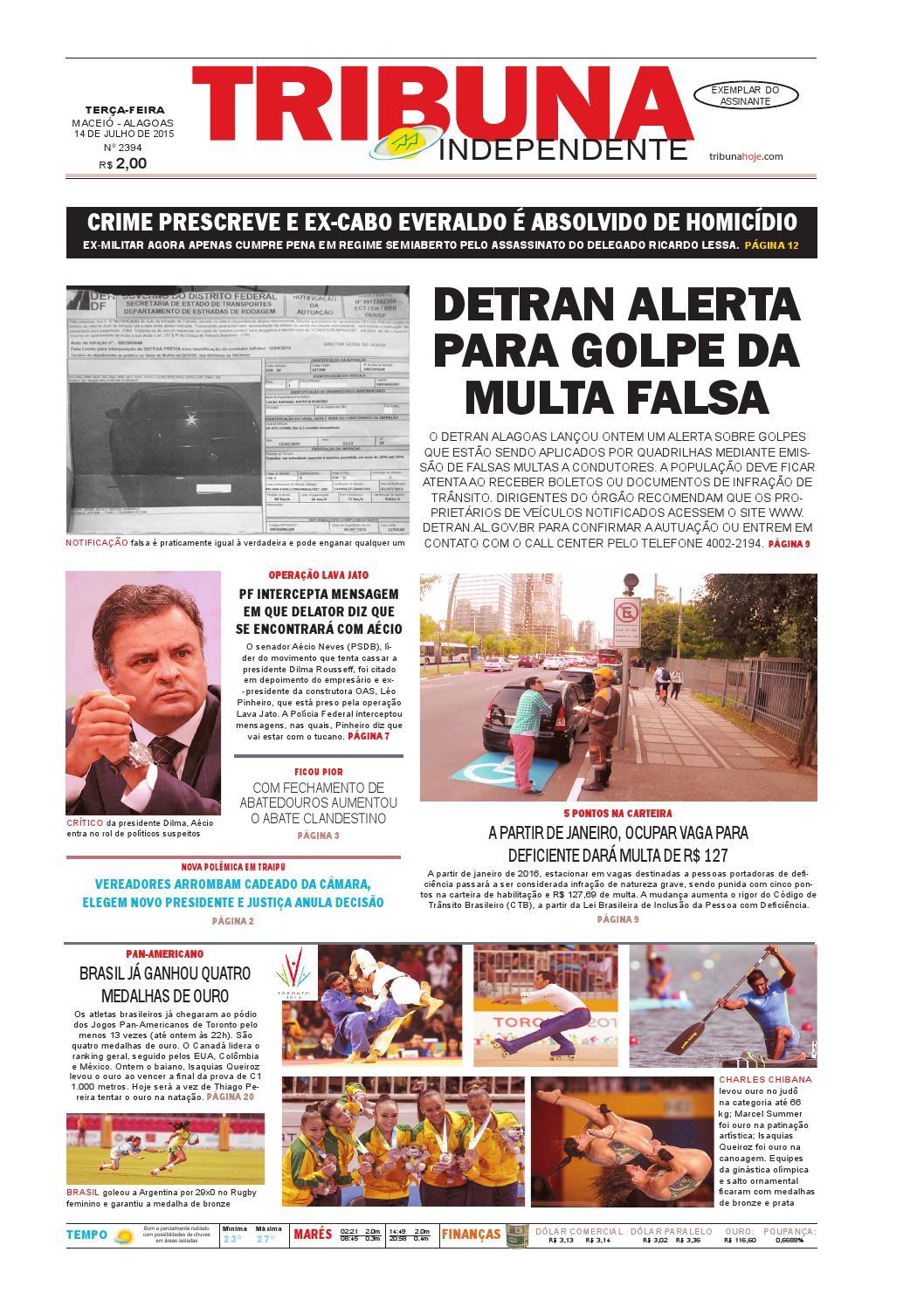 20c756d47c7 Edição número 2394 - 14 de julho de 2015 by Tribuna Hoje - issuu