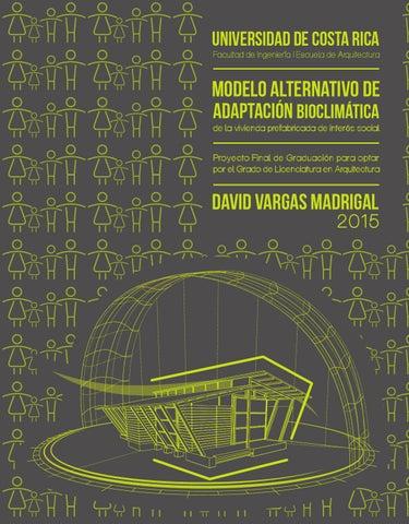 Modelo alternativo de adaptación bioclimática de la vivienda ...