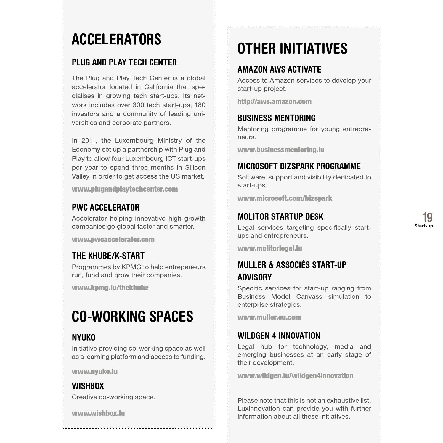 Start-up lu by Luxinnovation - issuu