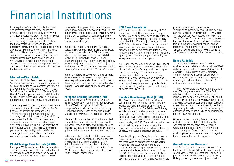 2015 - Global Money Week Report by Child & Youth Finance International -  issuu