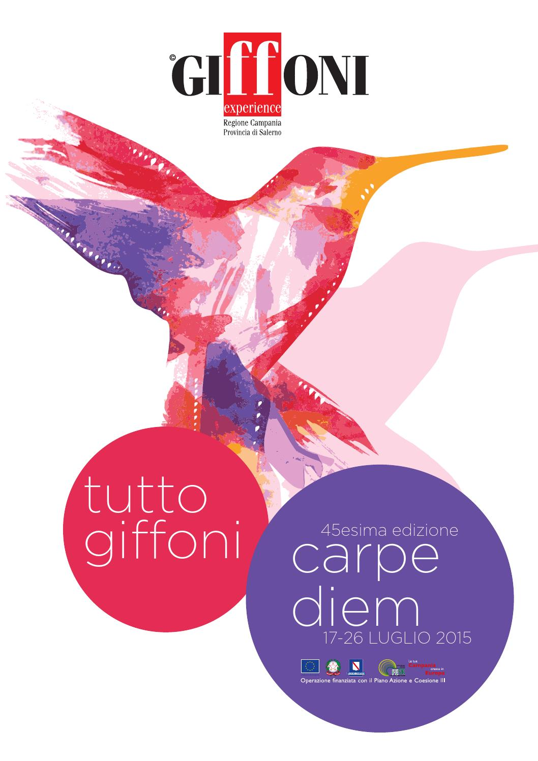 TUTTO GIFFONI 2015 by Giffoni Experience - issuu b512859b9e7b