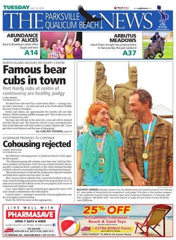 Parksville Qualicum Beach News, July 14, 2015 by Black Press