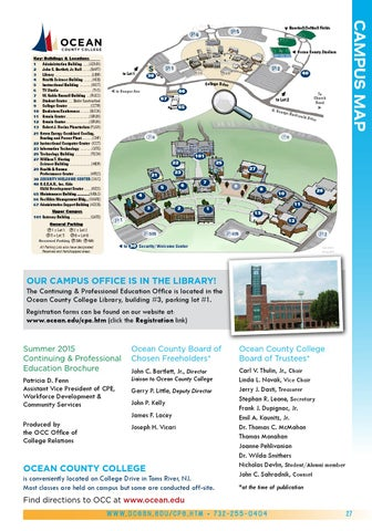 Ocean County College Map Kids Camp Summer 2015 catalog by Ocean County College   issuu