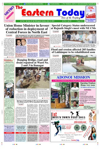 e paper july 12 by the eastern today issuue paper july 12