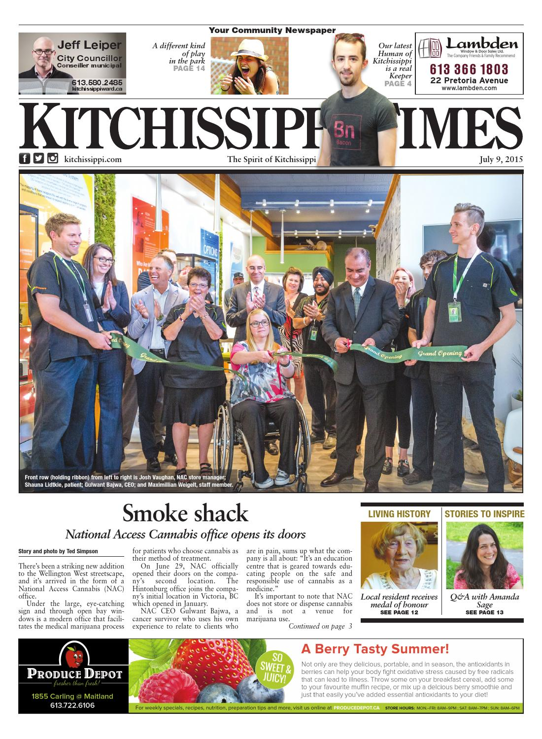 Kitchissippi Times | July 9, 2015 by Great River Media inc  - issuu