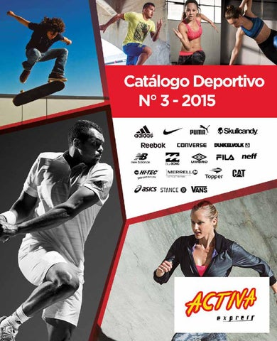 Catalogo deportivo n° 3 - ACTIVA EXPRESS - JULIO 2015 by Informes ... 5f34adfb2feb5