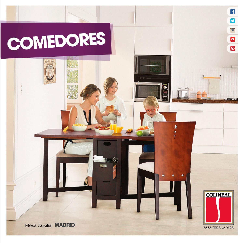 Cat logo de comedores 2015 by colineal issuu - Catalogo de comedores ...