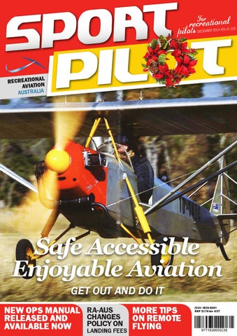 sport pilot 41 december 2014 issue by recreational aviation
