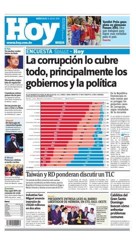 717e69651 Periódico miércoles 15 de julio, 2015 by Periodico Hoy - issuu