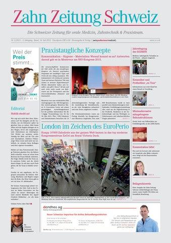Zahn Zeitung Schweiz | Ausgabe 5/2015 by pixelversteher - issuu