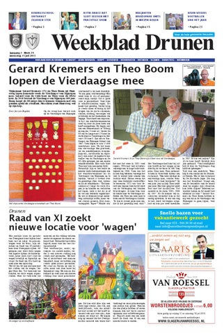 Weekblad Drunen 22 04 2015 By Uitgeverij Em De Jong Issuu