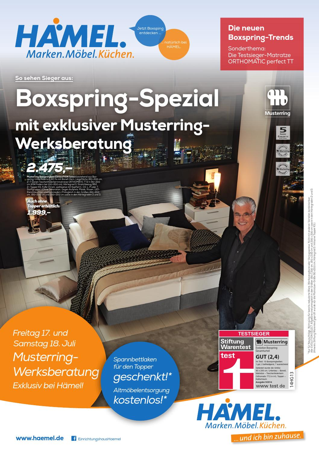 boxspring spezial by gerryland ag issuu. Black Bedroom Furniture Sets. Home Design Ideas