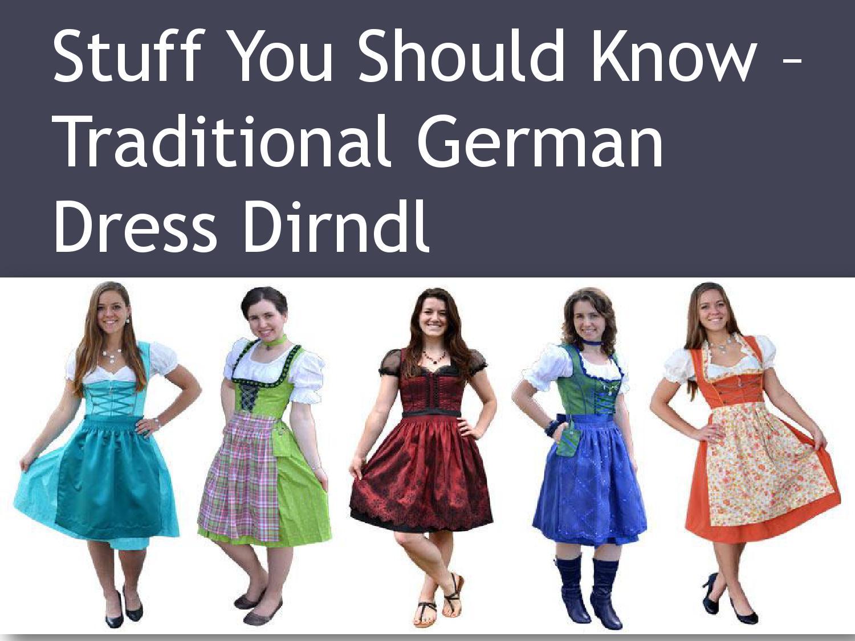 Traditional German Dress Dirndl By