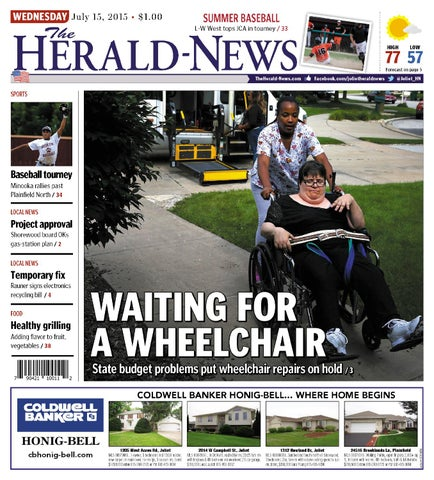 The Herald-News / TheHerald-News.com • Wednesday, July 15, 2015